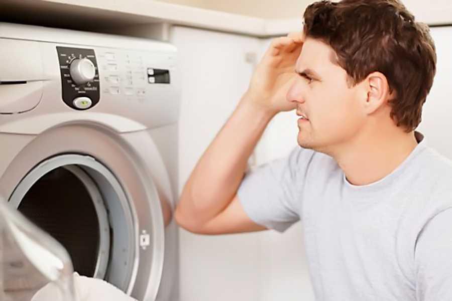 Что делать, если гудит стиральная машина при отжиме?